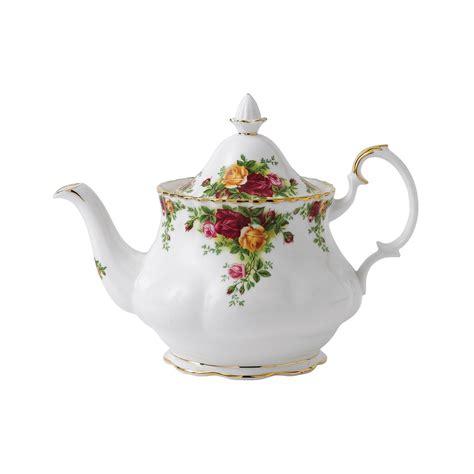 rose royal royal albert old country roses teapot m s royal albert