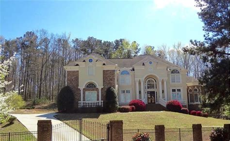 Atlanta Luxury Homes Gated Communities United States Atlanta Luxurious Gated Mansion In Atlanta For Sale On Propgoluxury