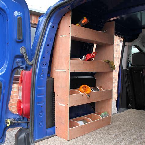 Tool Racks For Vans by Citro 235 N Berlingo Ii Swb Storage Shelving Plywood