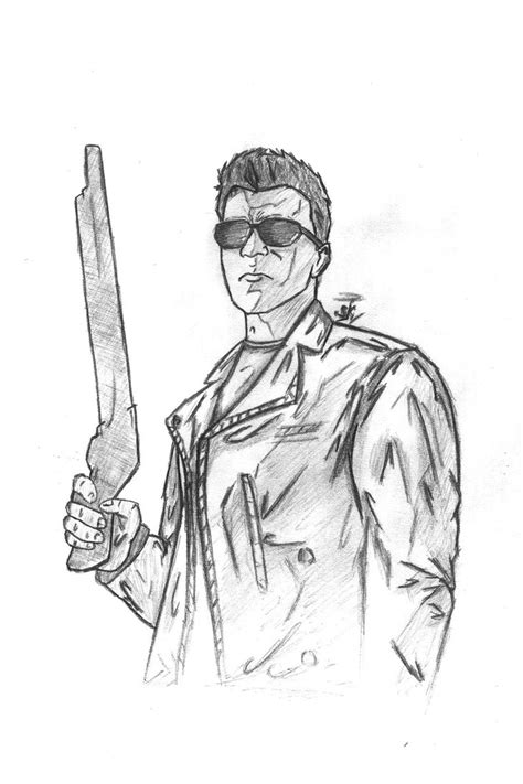 terminator free coloring pages
