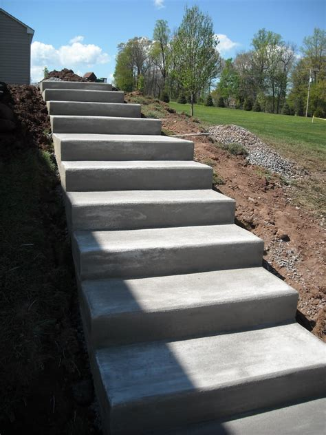 exterior house steps design concrete stairs design ideas home stair picture exterior loversiq