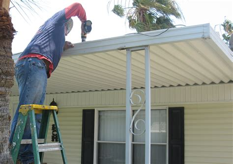 mobile awning repair awning coverted roof bestofhouse net 42036
