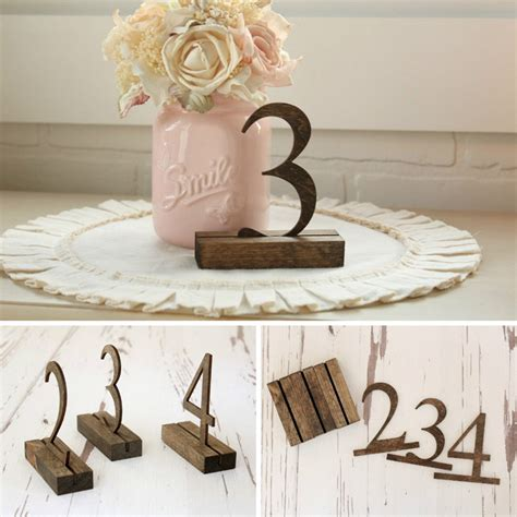 You Had Me At Camo Rustic Wedding Table Numbers