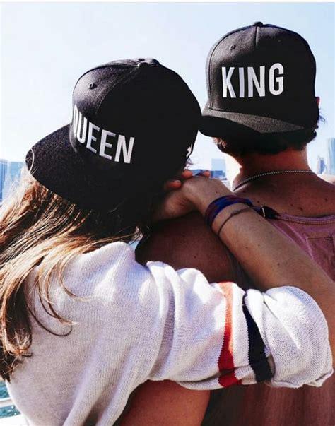 imagenes de amor king y queen gorra king queen para hombre y mujer perfecta para