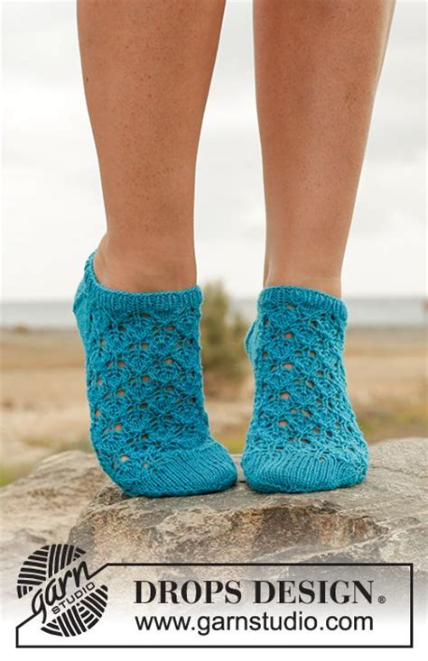 knitting pattern ankle socks splash ankle socks with lace pattern in quot fabel quot free