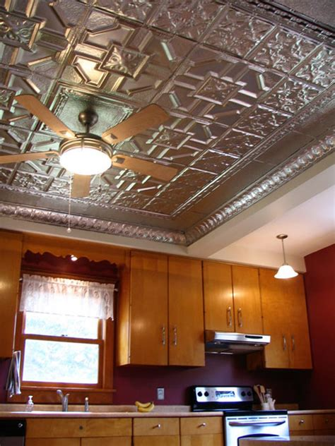 American Tin Ceiling Company by Kitchen Ceilings With Tin Farmhouse Kitchen Ta