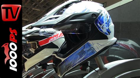 Helm Aufkleber Bmw Gs by Bmw Enduro Helmet Gs 2015 Features Decals