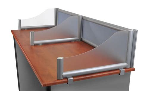 cardboard privacy screens for desks testing privacy shilds tabletop privacy screens testing
