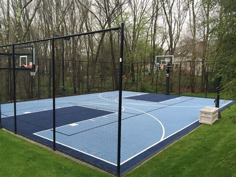backyard sport court cost backyard basketball court backyard basketball court 18