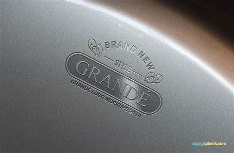 metal engraved mockup 80 hi res logo mockups from zippy pixels only 27