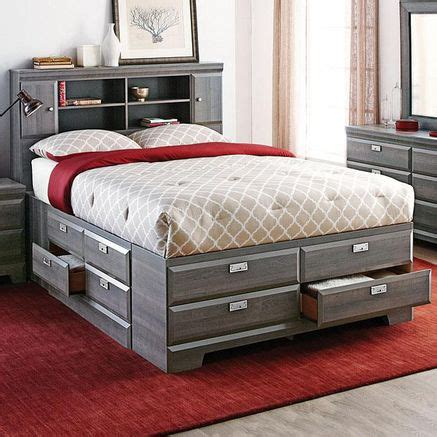 sears queen bedroom sets 17 best ideas about storage bed queen on pinterest bed
