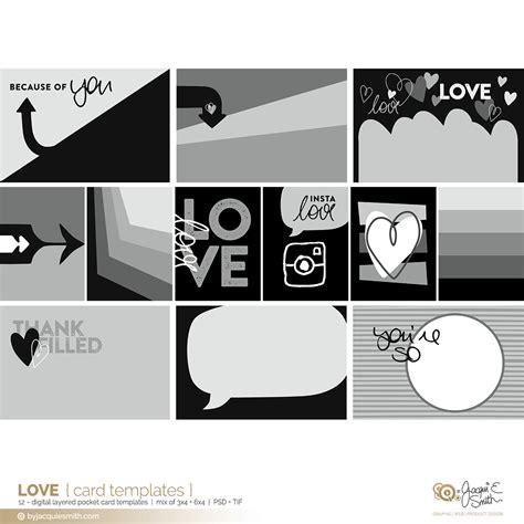 love pocket card templates byjacquiesmith