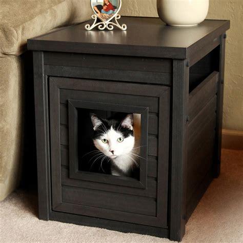 cat litter box table cat litter box ideas homesfeed