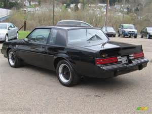 1987 Buick Regal Grand National Black 1987 Buick Regal Grand National Exterior Photo