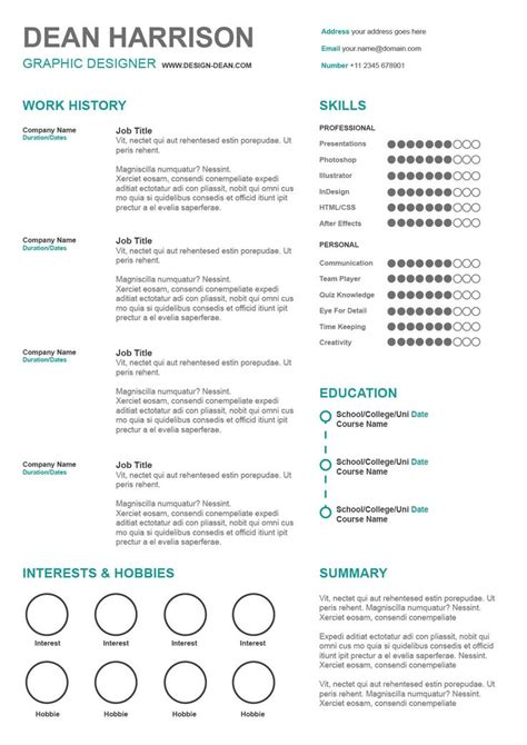 simple resume template free download basic resume template 51 free