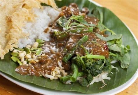 Nasi Pecel Nasi Pecel From Madiun Indonesia Food