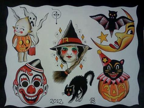 tattoo flash halloween pinterest the world s catalog of ideas