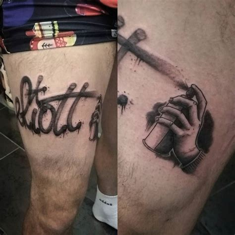 spray paint tattoo designs graffiti tattoos graff style lettering designs