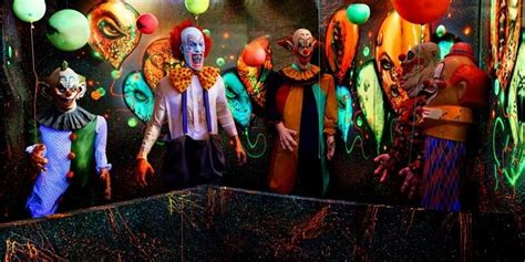 clown room neon clown room haunted house clowns and neon