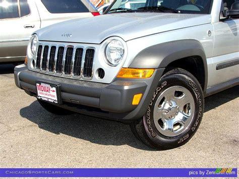 silver jeep liberty 2007 2007 jeep liberty sport 4x4 in bright silver metallic