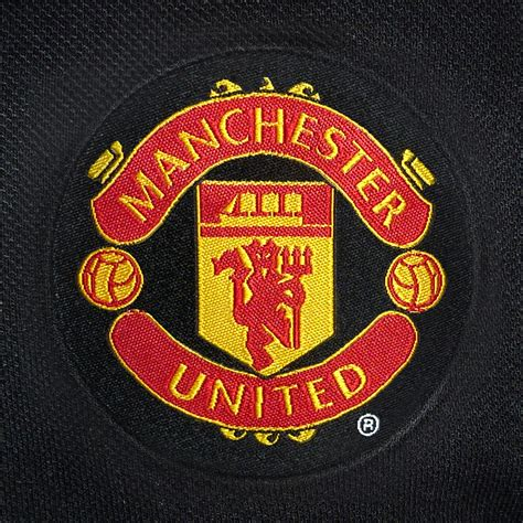 manchester united football club official soccer gift mens crest polo shirt ebay