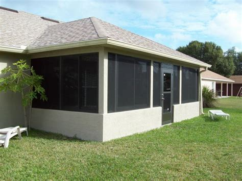 Removable Patio Screen by Palm Bay Aluminum Corp Installations We Offer