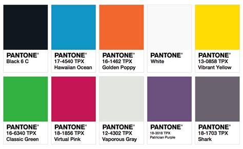 pantone colors fashion trendsetter