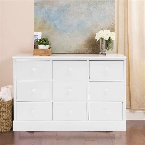 Drawer Unit With 9 Drawers by Large Chest Of Drawers Bedroom Furniture White Wood