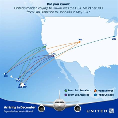 united airlines to add denver flights as part of expansion plan maui now united airlines to add 4 mainland to maui routes