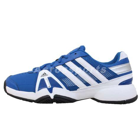 adidas barricade team 3 blue white 2013 mens tennis shoes