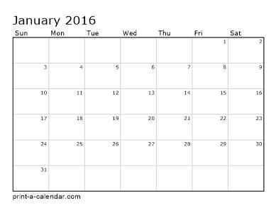 monthly planner 2016 printable pdf make your own blank calendar 2016 calendar template 2016