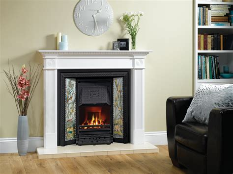 With Fireplace by Tiled Convector Fireplaces Stovax Traditional