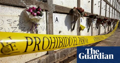 mexico cartel hangs bodies  city bridge  grisly show