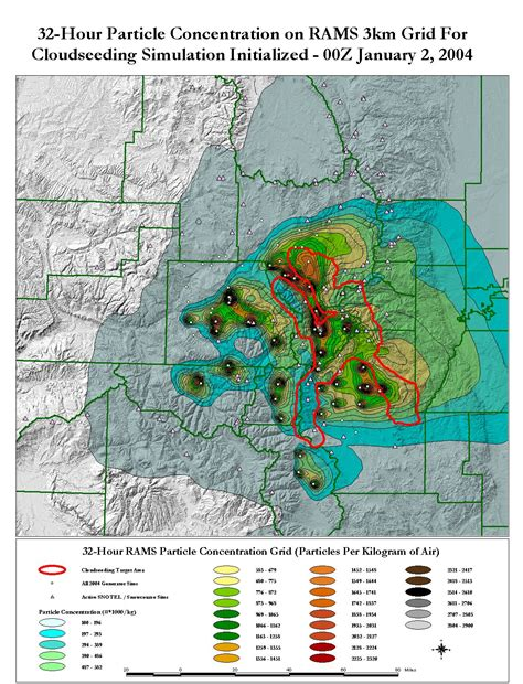 gis maps realtime forecasting evaluation of cloud seeding operations in colorado
