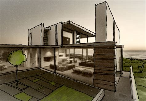 house architecture drawing modern house architecture sketch images