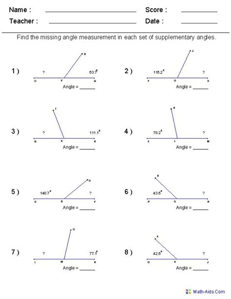 Math Worksheets 6th Grade by Best 25 Geometry Worksheets Ideas On