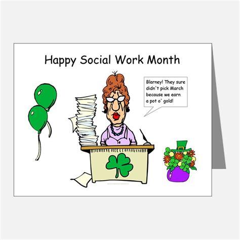Thank You Letter For Social Work Social Work Month Thank You Cards Social Work Month Note Cards Cafepress