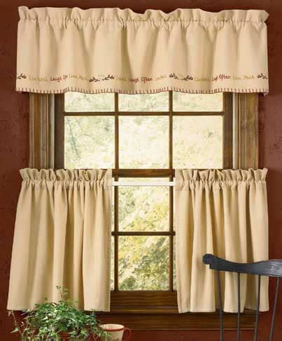 live love laugh curtains live well laugh often love much sentiments curtain valances