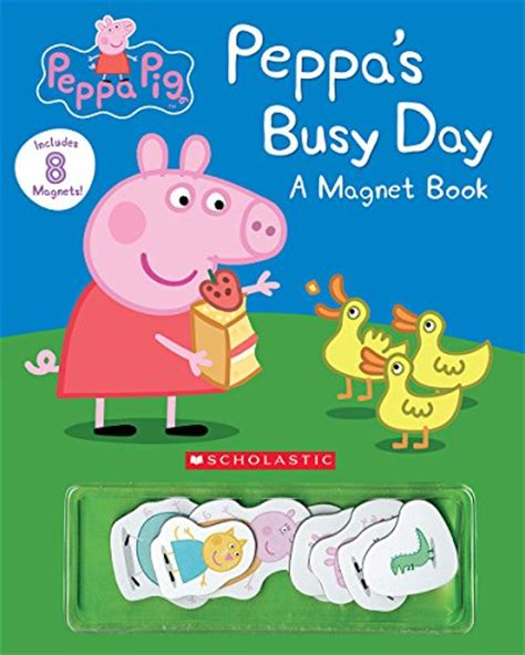 peppa s busy day magnet book peppa pig