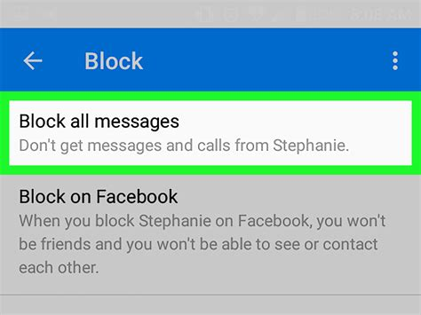 how to block emails on android how to block messages on android 6 steps with pictures