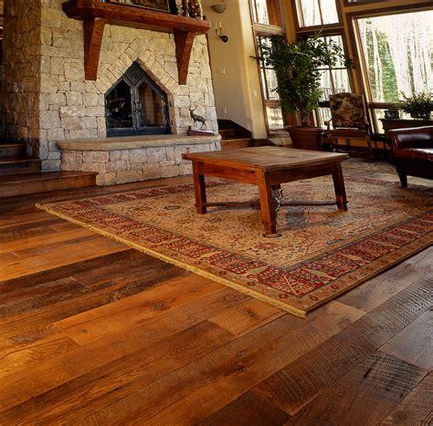 wide plank reclaimed flooring     pioneer