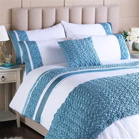 blue and white duvet cover home furniture design