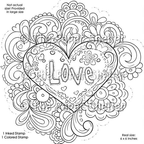 love coloring pages for adults intricate design coloring pages fancy psychedelic love