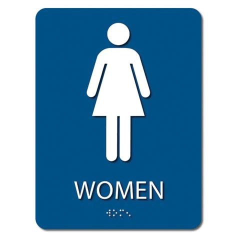 women only bathroom sign ada women s only restroom sign 6 x 8 iprint 3d usa