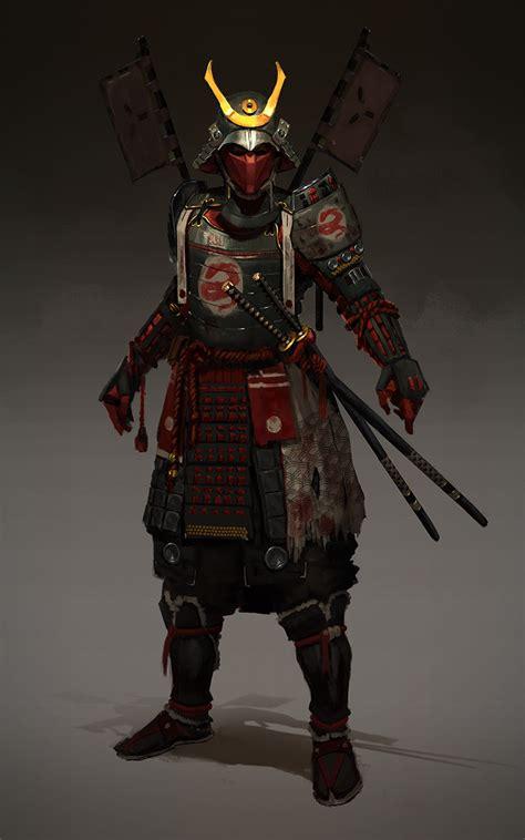 artstation samurai evgeniy petlya