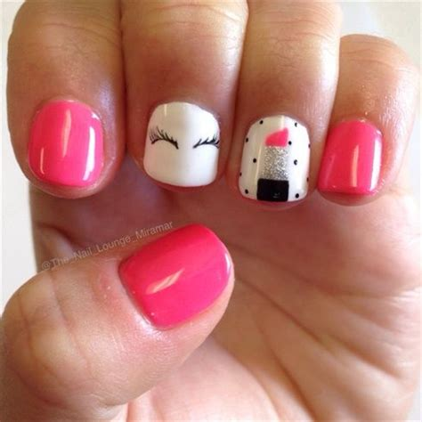 a simple and easy girly zebra nail art design finger 1000 ideas about mac diva lipstick on pinterest