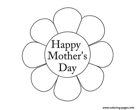 printable flowers mother s day flower mothers day happy new coloring pages printable