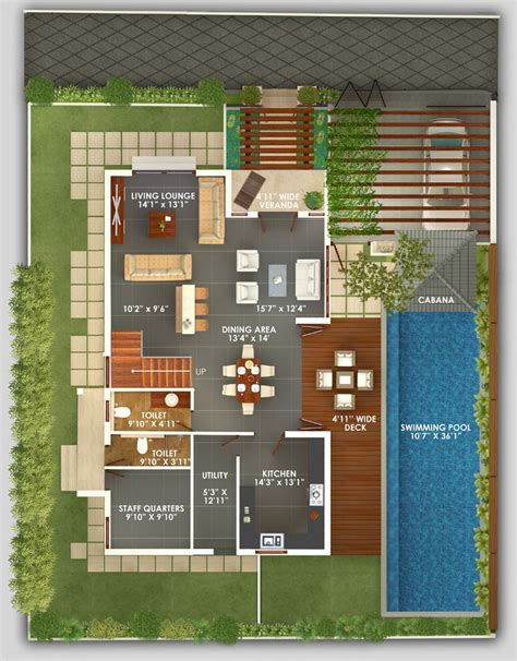 deluxe pool house iii floor 1000 images about floor plan on villas bali style bali house designs floor plans 3
