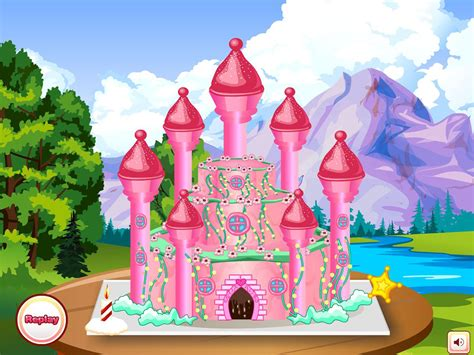 cake doodle free for android princess castle cake cooking android apps on play