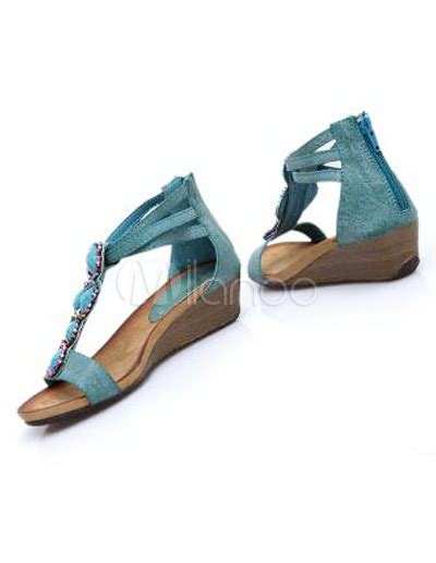 A C C E P T Spike Sandal Black casual pu leather wedge heel s sandals